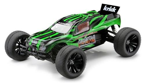Himoto E10XTLg - Трагги 1:10 Katana E10XTL Brushless (Зелёный)