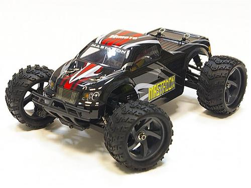 Himoto E18MTLb - Монстр 1:18 Mastadon E18MTL Brushless (черный)