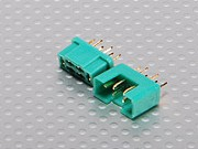 AM-1016 MPX Connector Male/Female, 1 pair (9638)