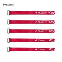 iFlight 130x10mm (5pcs) Metal Buckle Battery Strap Red [1569858]