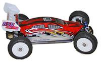 BSD Racing Brushless Buggy 4WD 1:8 2.4Ghz EP Автомобиль (Red RTR Version)[BS803T-Red]