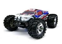 BSD Racing Brushless Monster Truck 4WD 1:8 2.4GHz EP Автомобиль (Blue RTR Version)[BS808T-Blue]