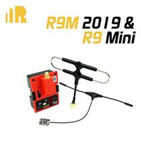 FrSky R9M 2019 Module & R9 Mini Receiver 900MHz Long Range Radio System w/Super 8 and T antenna [030