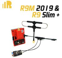 FrSky R9M 2019 Module & R9 Slim+ Receiver 900MHz Long Range Radio System w/Super 8 and T antenna [03