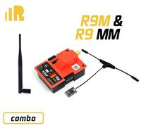 FrSky R9M Module & R9 MM Receiver 900MHz (T-antenna) Long Range Radio System  [03081814]
