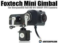 Foxtech Mini Gimbal for HoryzonHD V4 FPV Camera [FT002012]