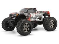 HPI Savage X 4.6 Nitro GT-3 4WD 1:8 2.4 GHz (Grey-Red RTR Version) [HPI105645-GR]