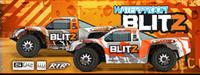 HPI Blitz Scorpion 2WD 1:10 EP 2.4GHz (Silver/Orange RTR Version) [HPI105833-SO]