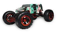 HSP Big Climber Hummer 1:8 краулер 4WD электро зелёный RTR Автомобиль [HSP94880T2 Green Army]