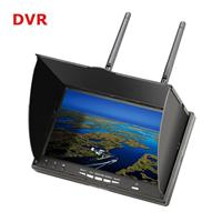 "LCD5802D 5.8G 40CH 7"" FPV Monitor with DVR Built-in Battery"