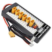 HotRC Multi 2S-6S XT60 LiPo Battery Parallel Balanced Charging Board w/XT60 Female [MXA00211]