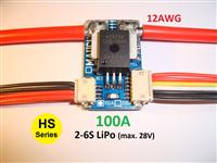Mauch 073: HS-100-LV 100A Current Sensor Board 2-6S LiPo