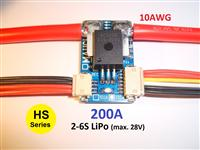 Mauch 075: HS-200-LV 200A Current Sensor Board 2-6S LiPo