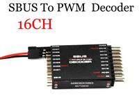 SBUS to PWM/PPM Decoder 16CH Receiver Signal Converter