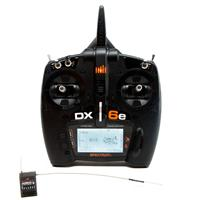 Spektrum DX6e 6Ch 2.4GHz DSM2/DSMX Transmitter with AR610 Receiver [SPM6650]