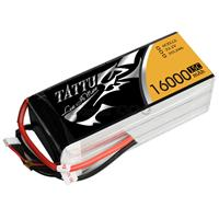 TATTU 16000mAh 22.2V 15/30C 6S1P Lipo Battery Pack [TA-15C-16000-6S1P]