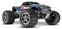 Traxxas E-Maxx Brushless 4WD 1:10 EP 2.4Ghz (Blue RTR Version) [TRX3908-Blue]