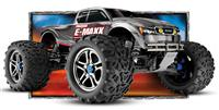 Traxxas E-Maxx Brushless 4WD 1:10 EP 2.4Ghz (Silver RTR Version) [TRX3908-Silver]