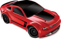 Traxxas Ford Mustang Boss 302 VXL 4WD 1:16 EP 2.4Ghz (Red RTR Version) [TRX7304-Red]