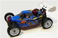 Thunder Tiger 6243-F112 EB-4 S2.5 Nitro PRO 1:8 4WD Buggy 2.4 GHz RTR Blue