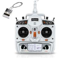 Walkera Devention Devo10 2.4GHz 10ch Transmitter w/ RX1002 Receiver (white) [WK-Devo10-System-w]